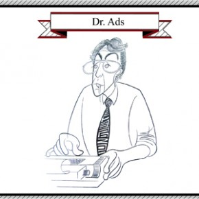 Dr. Ads Gets Industrious