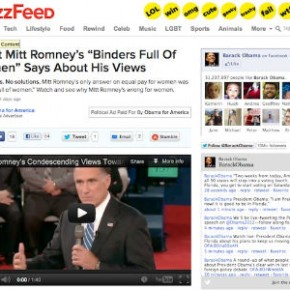 State of the Cuisinart Marketing (II): Obama Campaign Buys Into BuzzFeed's Branded Content