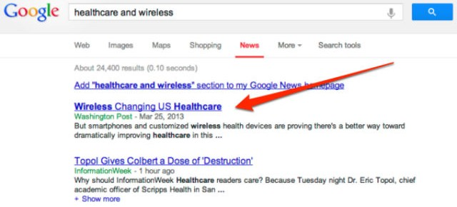 Google's Newest Search Results: Sponsored Content