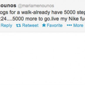 Maria Menounos Is a Twitter Mole