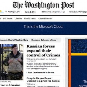 Washington Post Opens the Kimono for Stealth Marketers